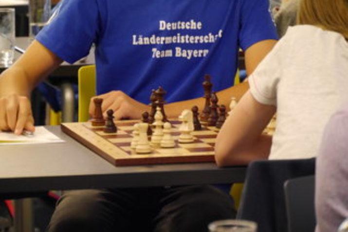 Die bayerischen Nationalmannschaften am Brett