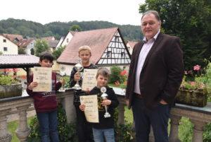 Constantin Stichter ist Bayerischer U8-Meister