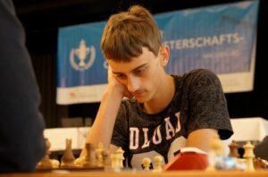 Der neugebackene FIDE-Meister Tobias Kolb